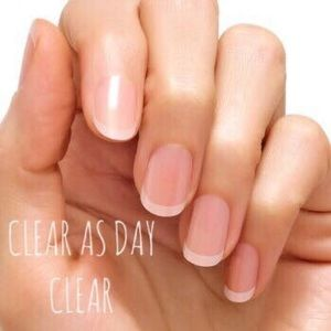 Accessories - Color Street Nail Strips - Clear as Day